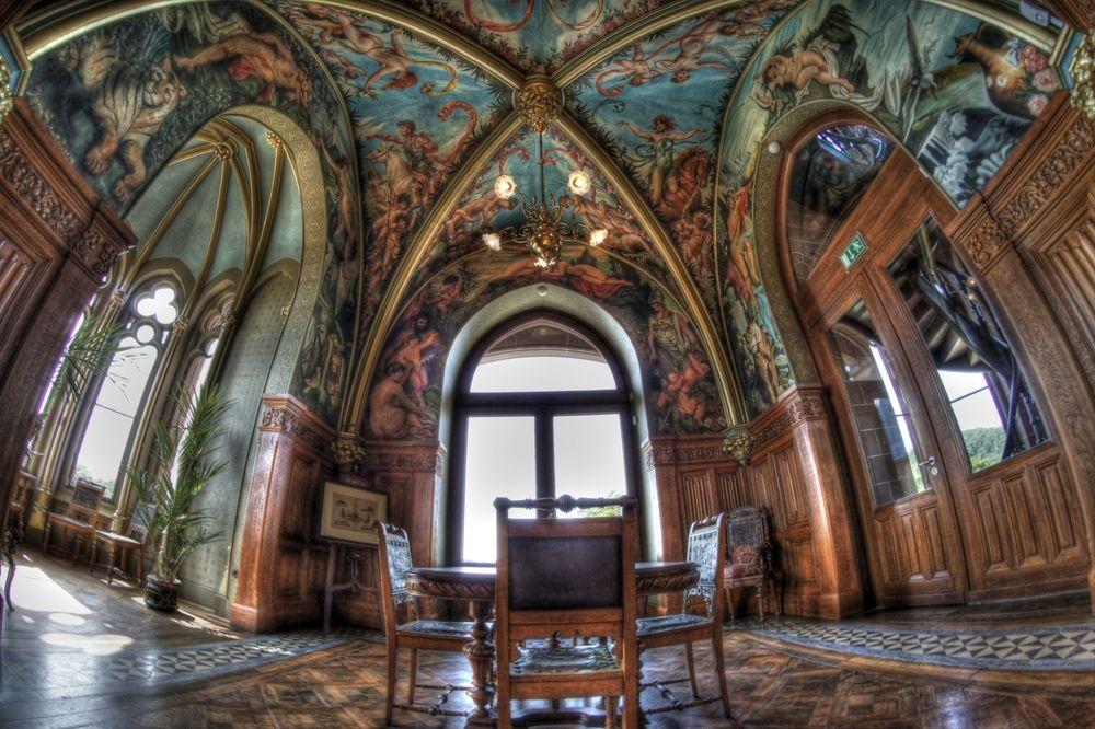 Schloss-Drachenburg - Königswinter, North Rhine-Westphalia. Germany - neo  Gothic 19th … | Gothic architecture drawing, Castles interior, Gothic  revival architecture