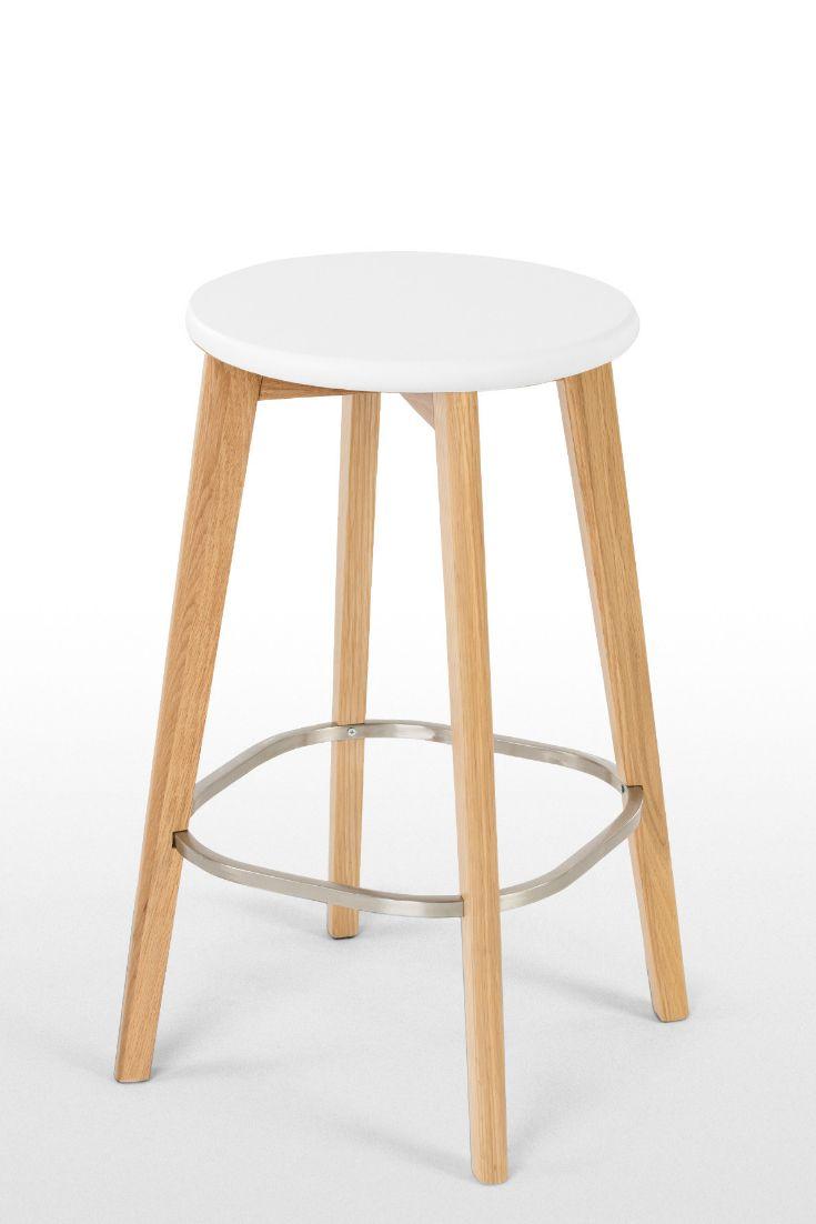 2 x fjord barhocker eiche und wei m bel pinterest barhocker hocker und bar. Black Bedroom Furniture Sets. Home Design Ideas