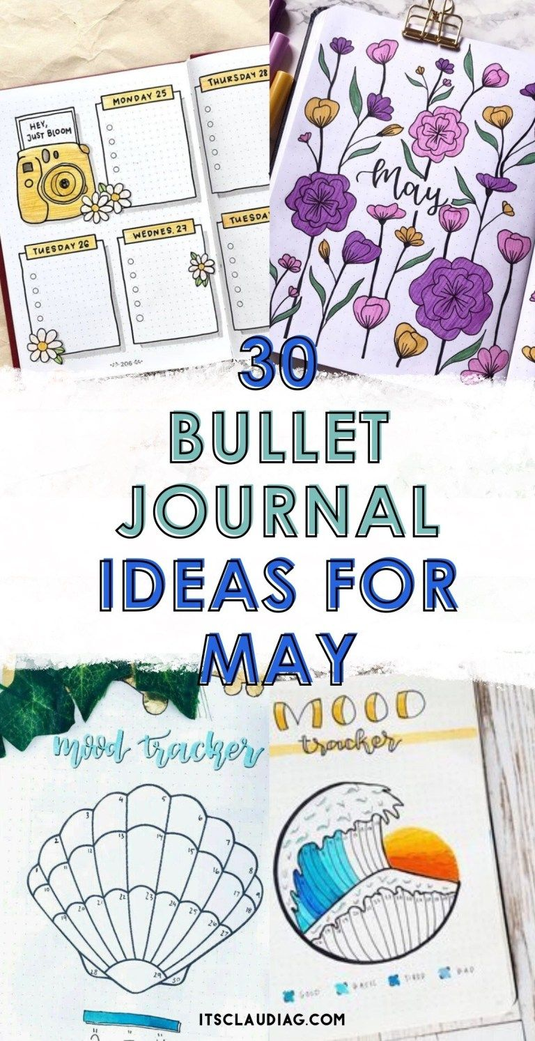 30 Bullet Journal Ideas for May You Can Copy - Its Claudia G