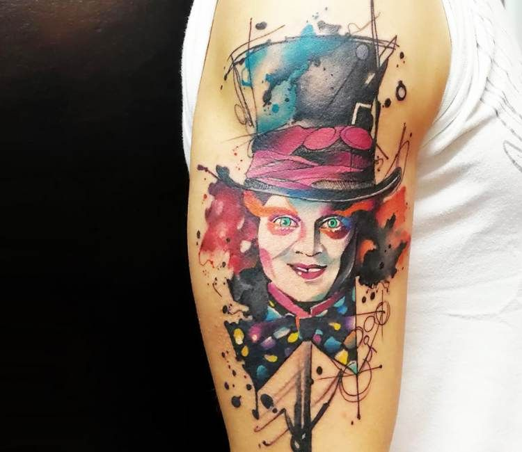 Hatter tattoos pictures mad mad hatter
