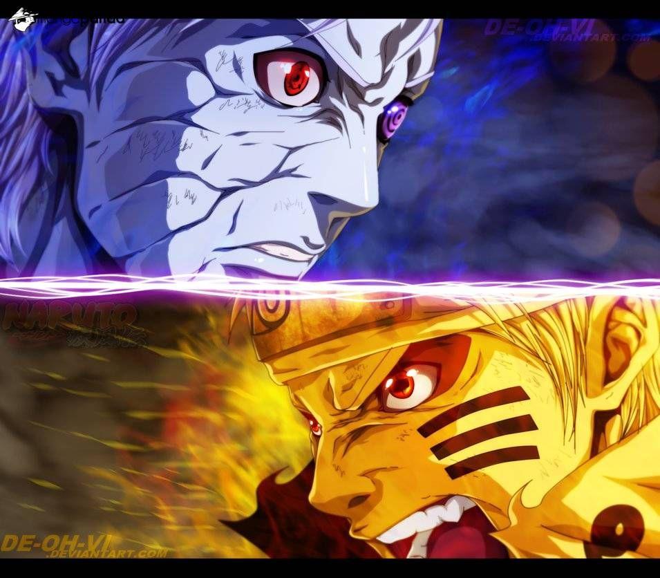 Naruto & Obito Komik naruto, Naruto vs, Naruto cool