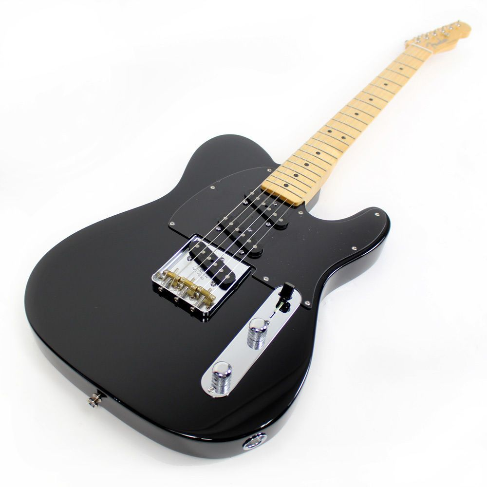 Black Fender Classic Player Telecaster Electric Guitar 3 Pickups