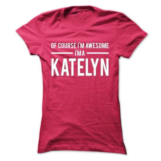 Team Katelyn - Limited Edition - #birthday gift #bridesmaid gift. OBTAIN LOWEST PRICE => https://www.sunfrog.com/Names/Team-Katelyn--Limited-Edition-qmknimoupr-Ladies.html?68278