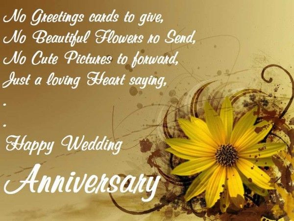 Happy wedding anniversary wishes messages for couple love