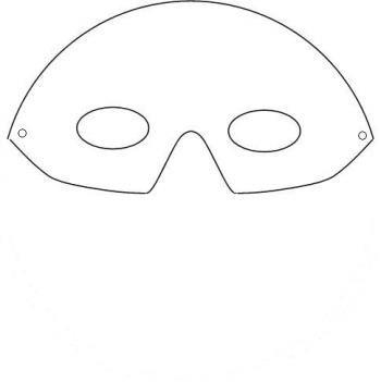 masque pour le carnaval : oiseau de paradis 1 - trucs et deco