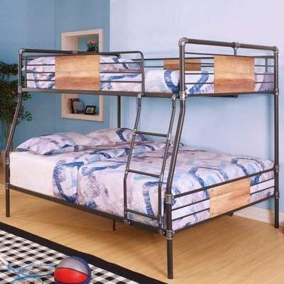 Best Harriet Bee Eloy Full Over Queen Bunk Bed In 2020 Queen 400 x 300