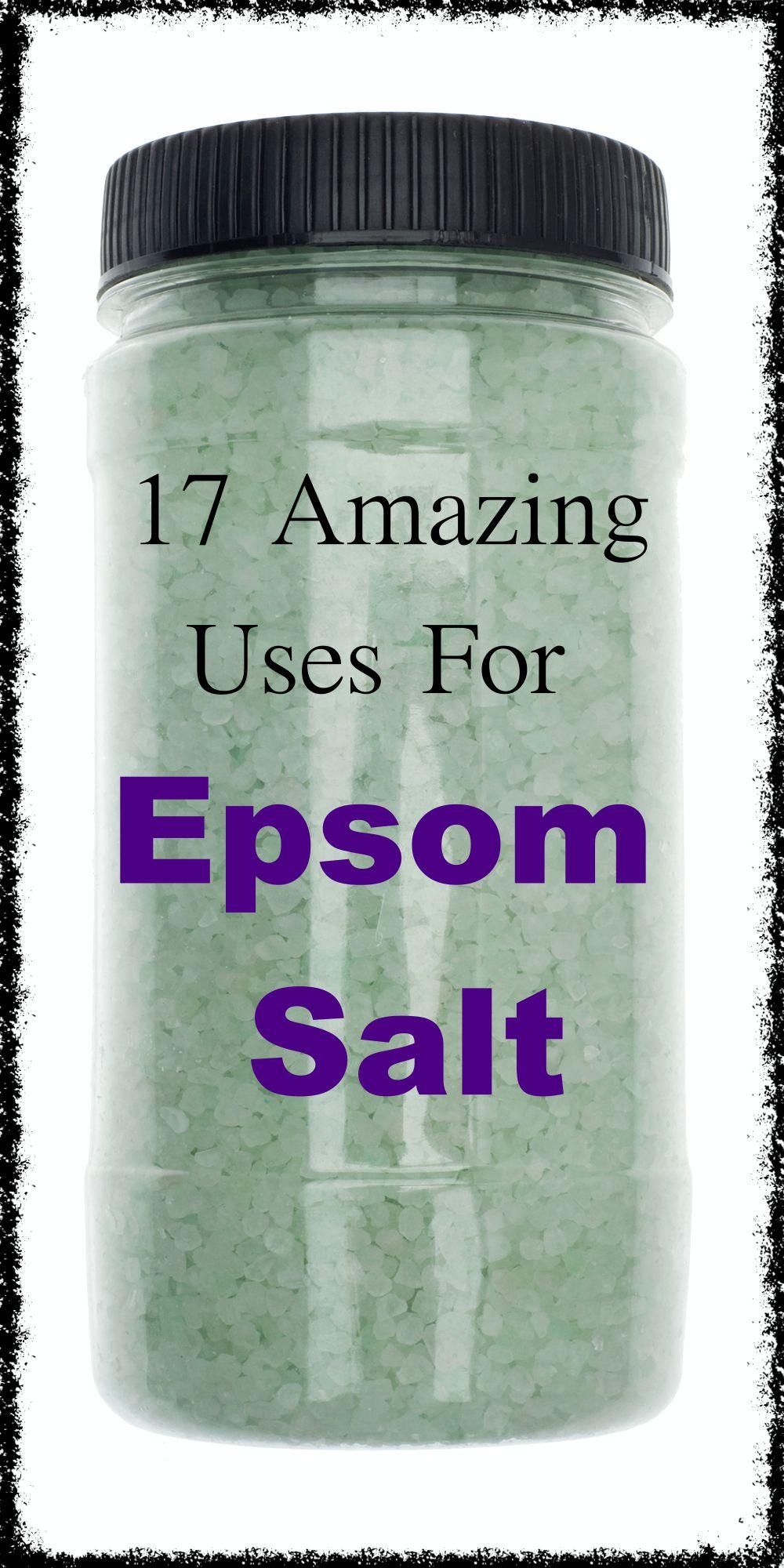 17 Amazing Uses for Epsom Salt, Some You Won't Bel