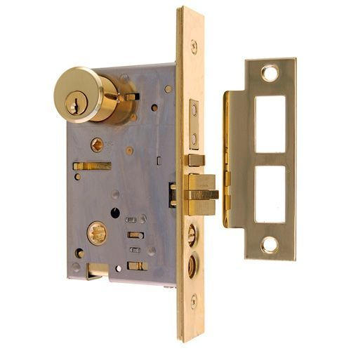 Restorers Classic 2 1/2 Inch Knob To Handle Entry Mortise Door Lock ...