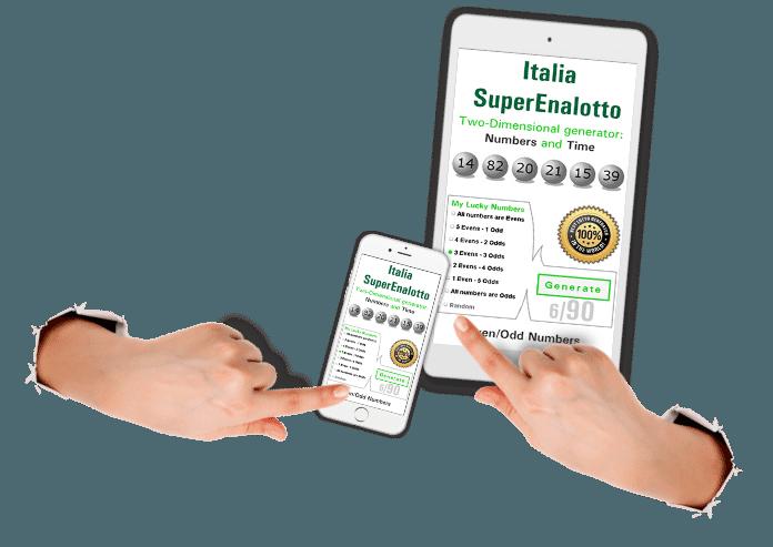 Twodimensional Lotto Winner Apps