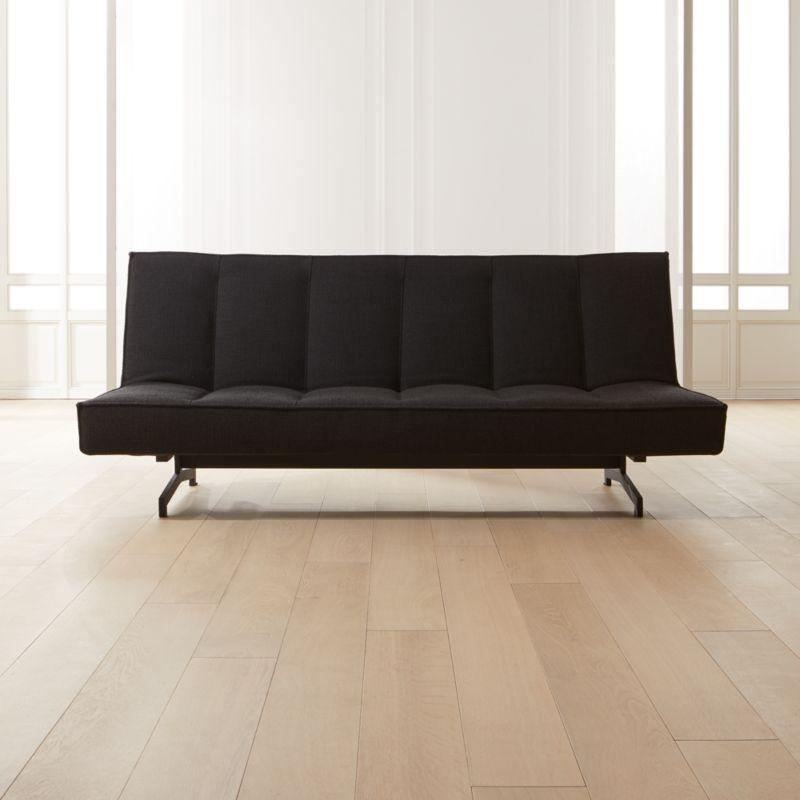 Flex Black Sleeper Sofa + Reviews in 2020 Sleeper sofa