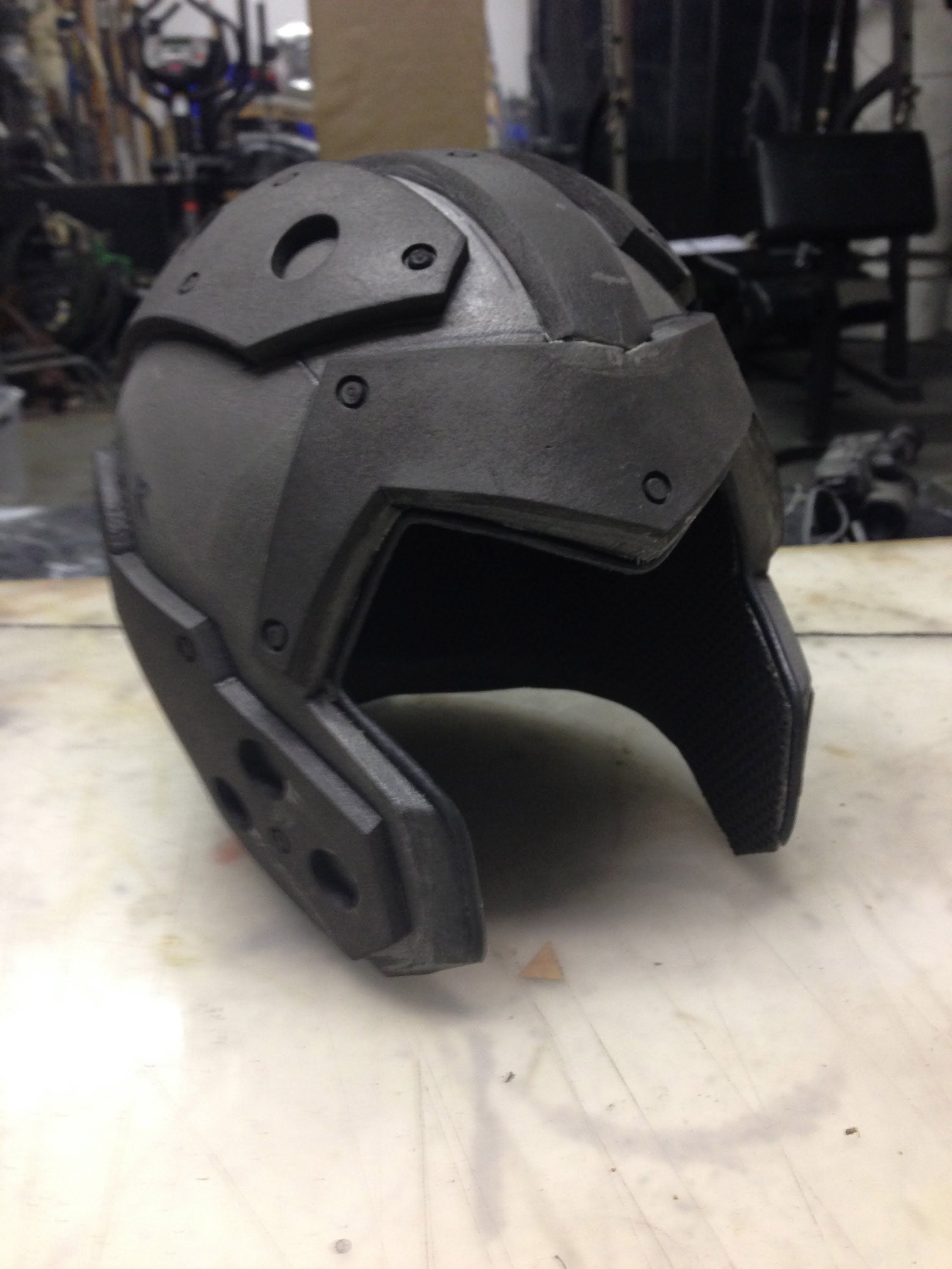 How To Make A Foam Helmet, Tutorial Part 3 Foam cosplay