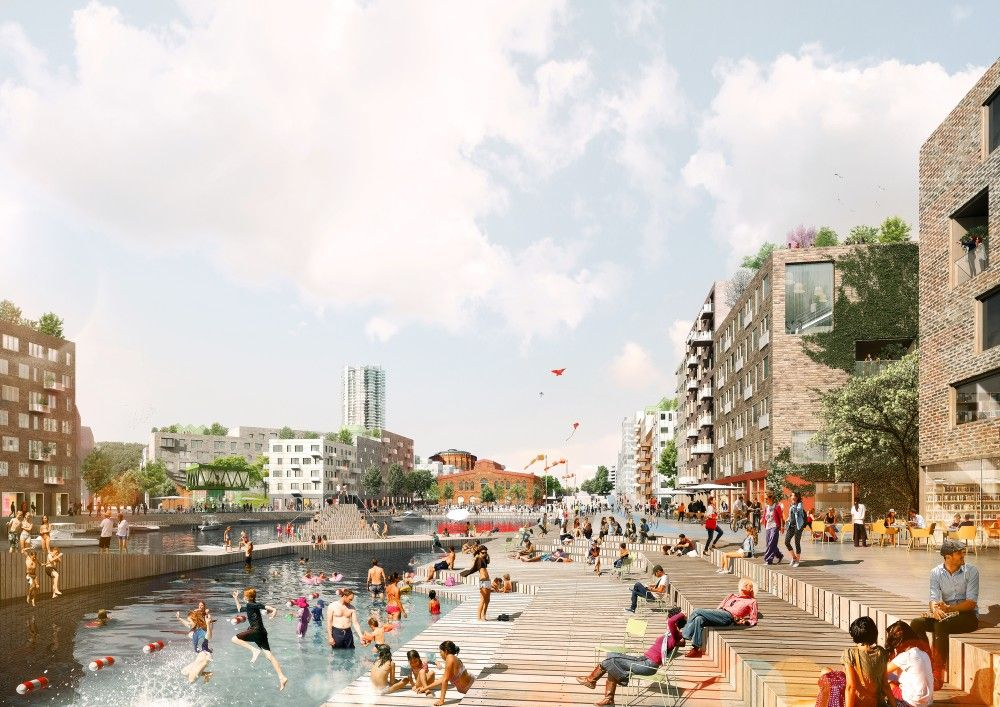 Gallery of ADEPT and Mandaworks Design Masterplan for Stockholm's Royal Seaport  4 is part of architecture - Mandaworks
