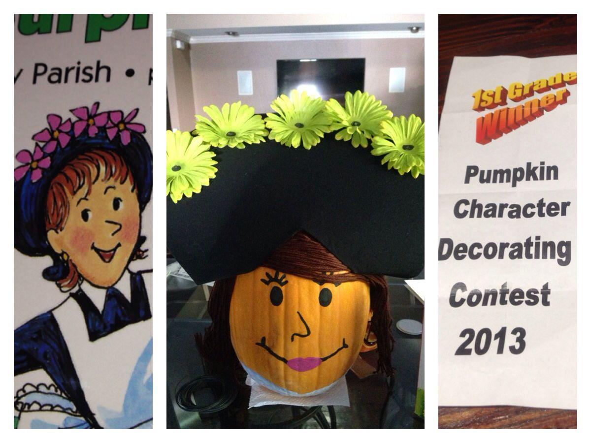 Storybook Character Pumpkins