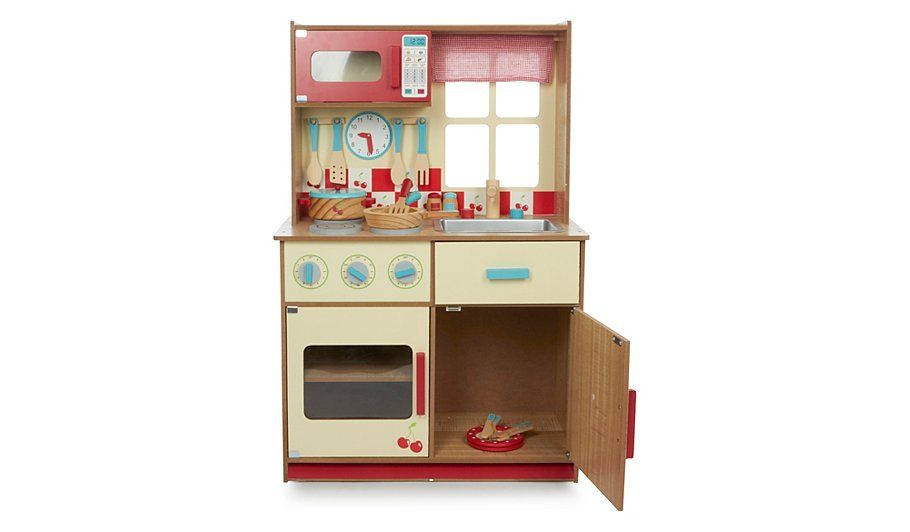 2f850e76f485 Buy George Home Deluxe Wooden Kitchen and Cooking Set from our Wooden Toys  range today from George at ASDA.