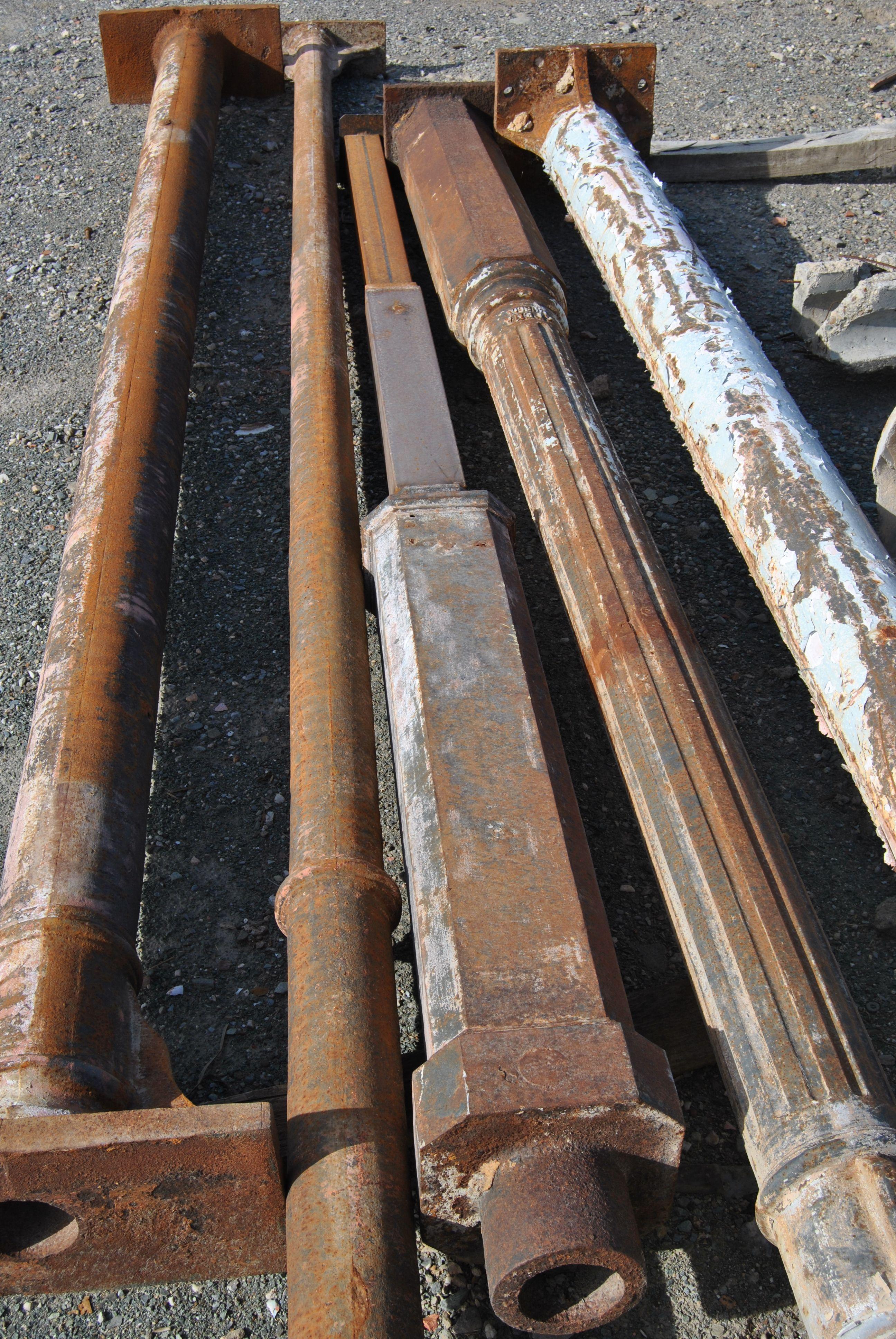 Columnas de fundicion en 2019 columnas de forja cast - Baneras de hierro fundido ...