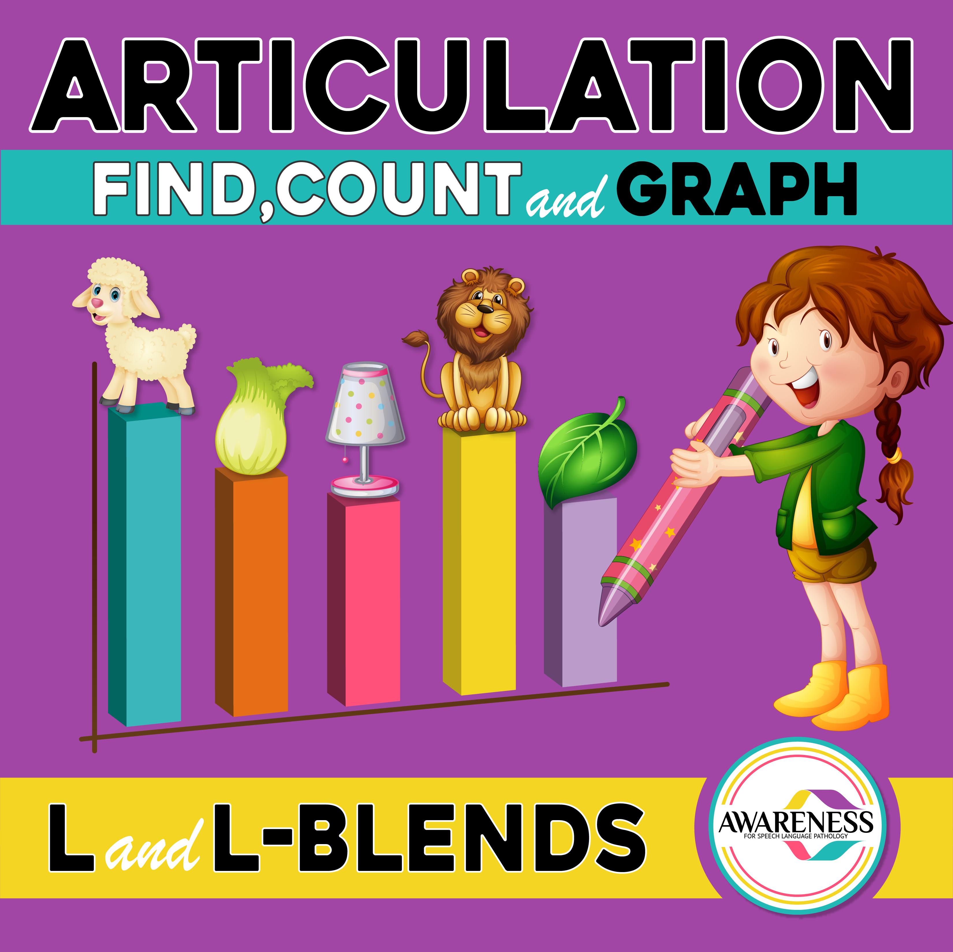 L Blends Articulation Worksheet