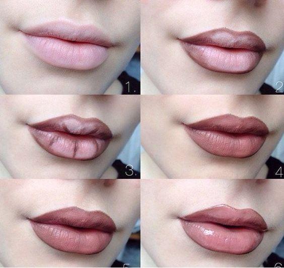 12 Tutorials to Apply Lip Liner – Pretty Designs