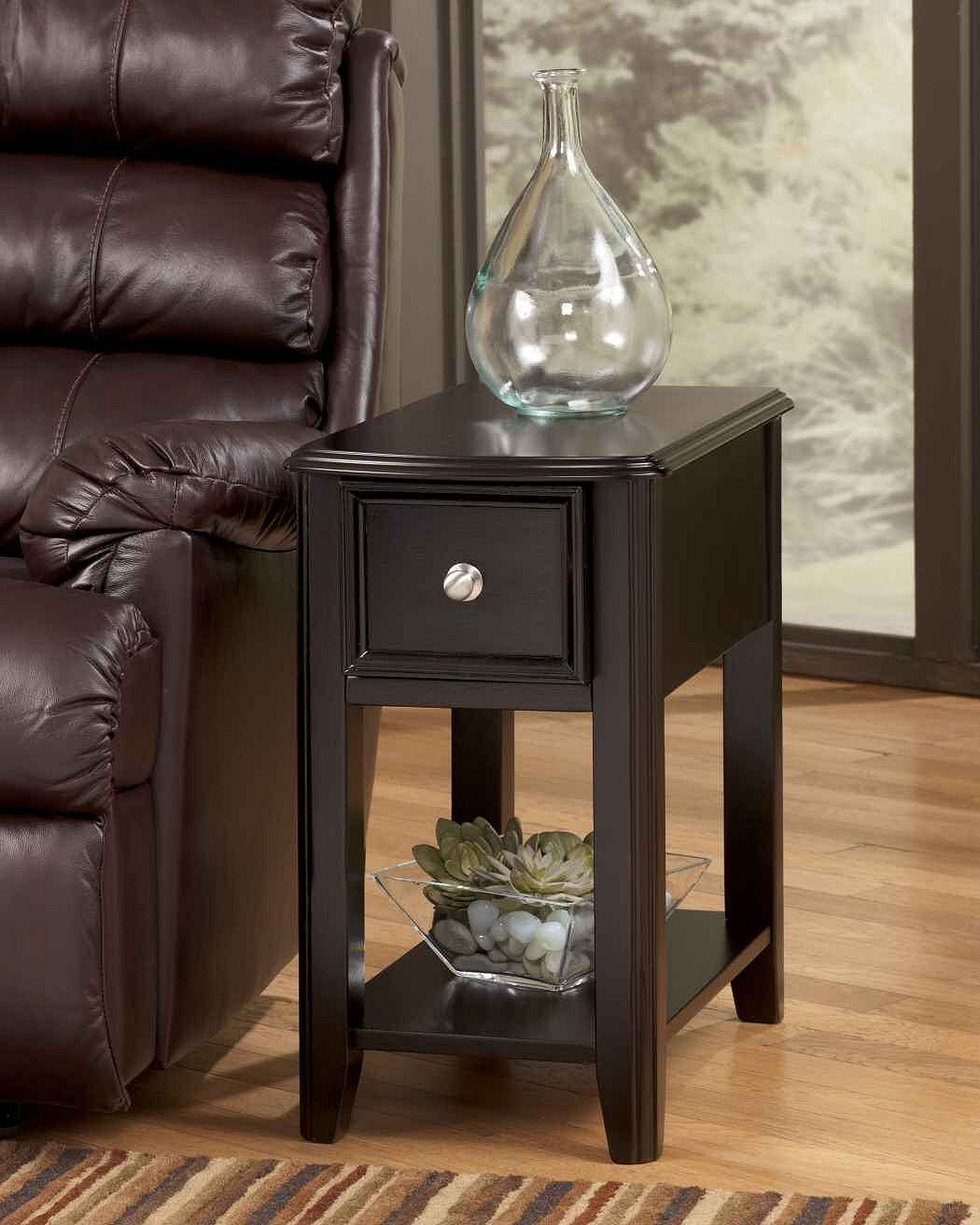 Carlye Chairside Table Dark Living Room Ideas Chair
