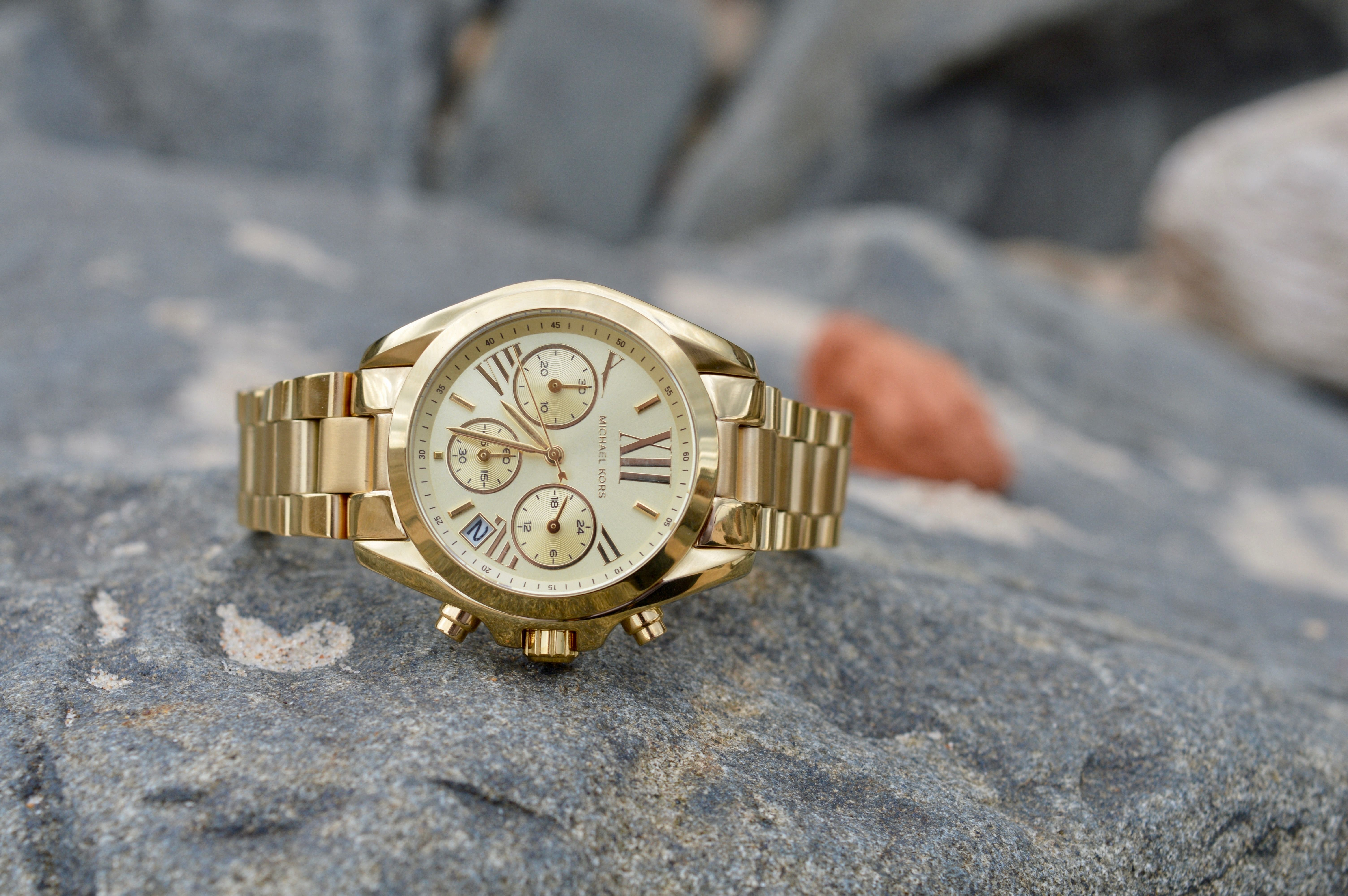 Plus Watches Michael Kors Timepieces For Everybody | Gold