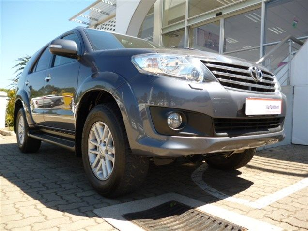 Get The Best Performer The 2013 Toyota Fortuner Iii 3 0 D 4d