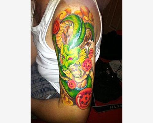 Dragon Ball Tattoo Forearm: Dragon Ball Z Tattoo