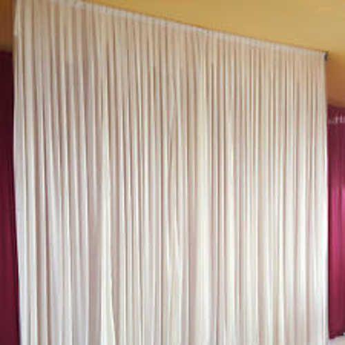 Wedding BACKDROP Background Decor Studio Draping Curtain Party Drapes White