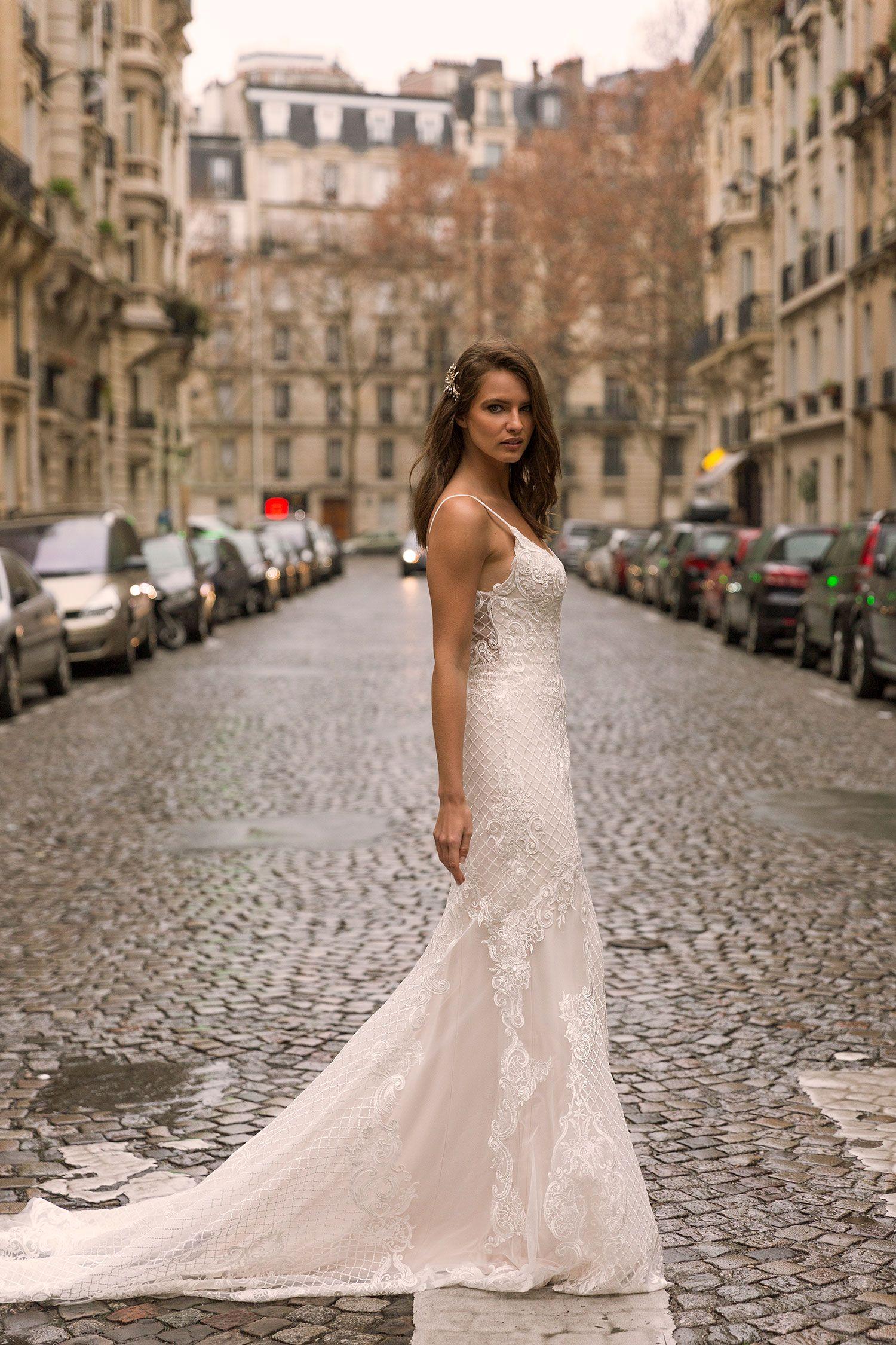 The I N D I R A Gown By Madi Lane Bridal Style Number Ml9019 Madilanebridal Madilanebride We Wedding Dresses Embellished Wedding Gowns Find Wedding Dress