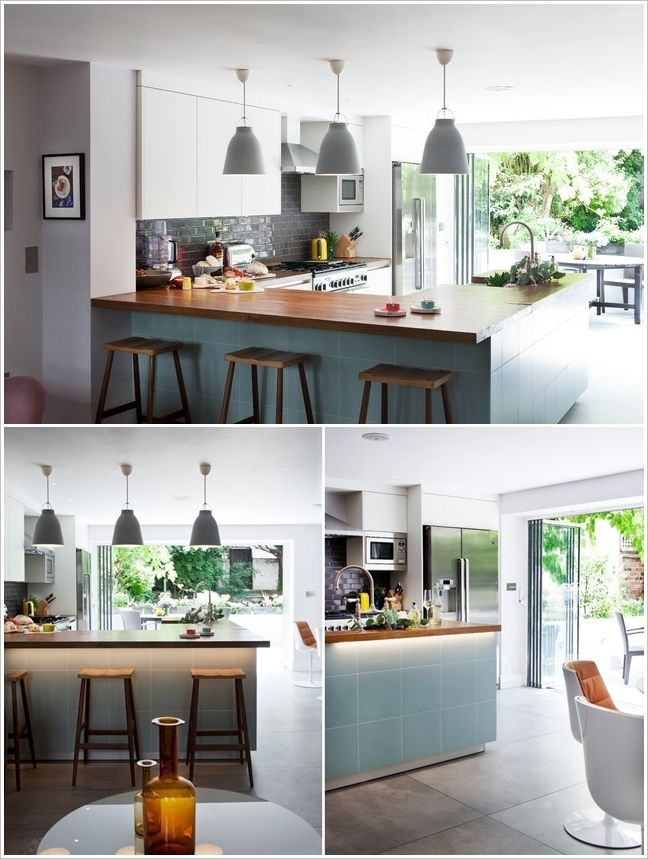 15 fabulous u shaped kitchen designs that will inspire you kitchen remodel small kitchen bar on u kitchen remodel id=17395