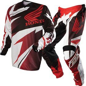Product Namefox Racing Red Hc Honda Jersey 180 Honda Pant Package Deal Motocross Gear Fox Racing Riding Gear