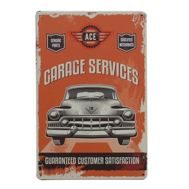 Captivating Hot Gas Station And Gasoline Vintage Retro Metal Signs Home Decor Vintage Tin  Signs Pub Vintage