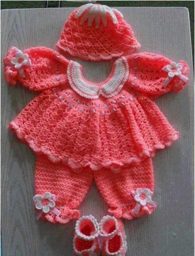 Pin de M. Edilma en Vestidos Bebe | Pinterest | Patrones libres de ...