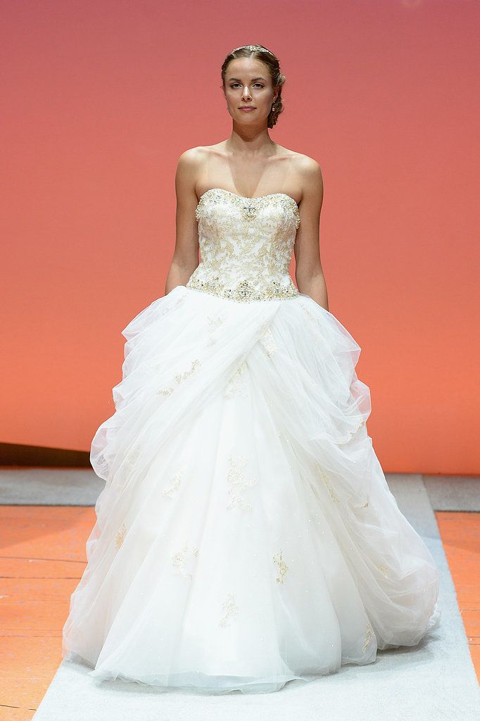 See disney fairy tale weddings by alfred angelo 39 s wedding for Fairytale inspired wedding dresses