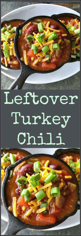 Photo of Leftover Turkey Chili