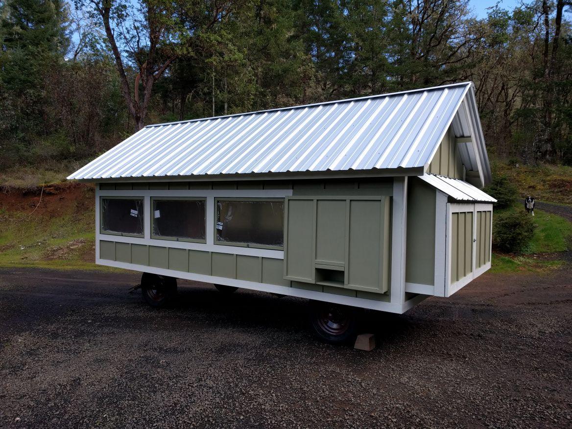 Chicken wagon chicken wagons mobile chicken coop wagon