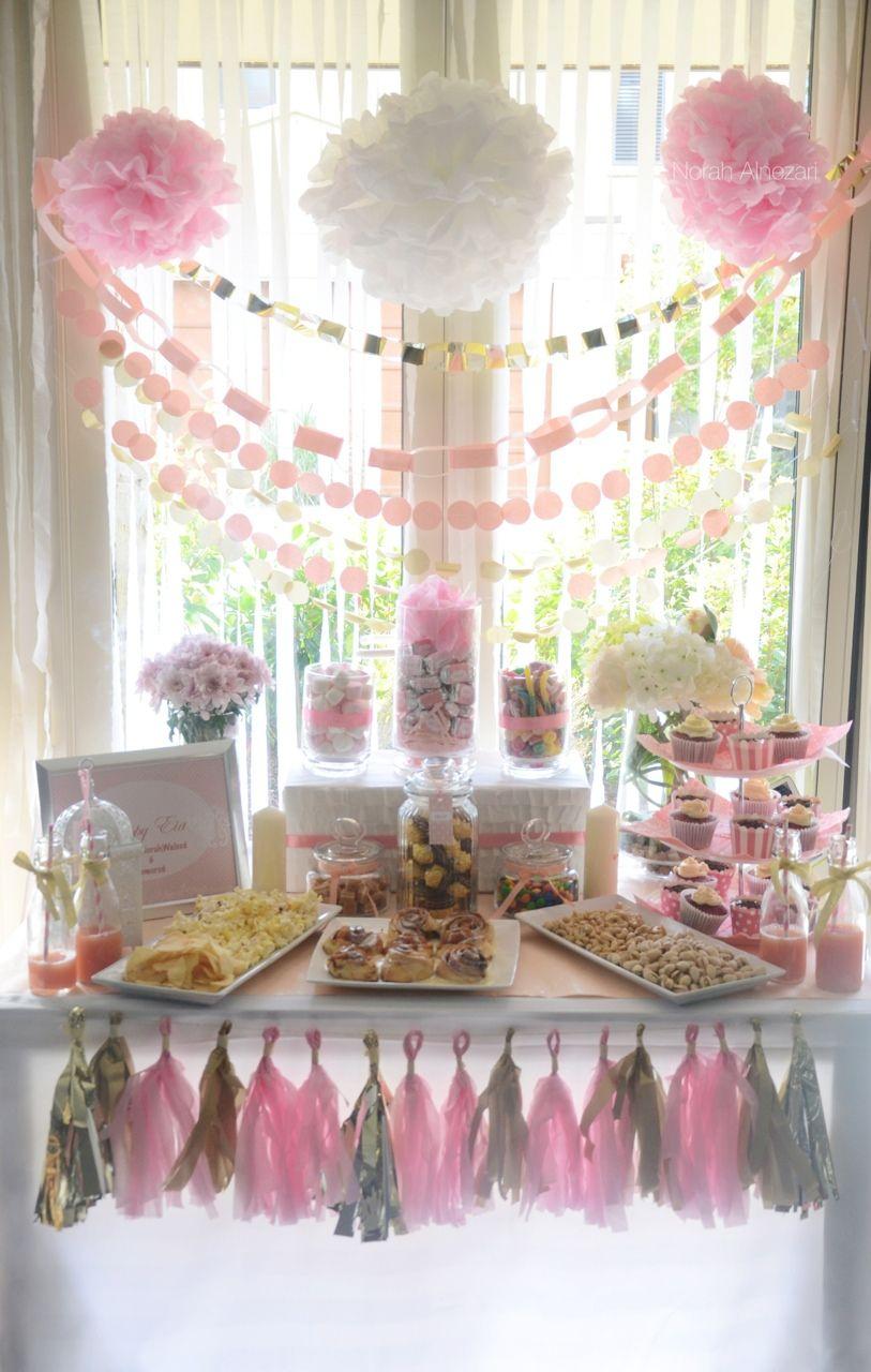 صورة طاولة تجهيز العيد من إعدادي Diy Party Diy Inspiration Table Decorations