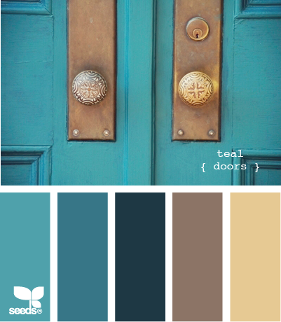 color pallets oh how i need this! | turquoise and green