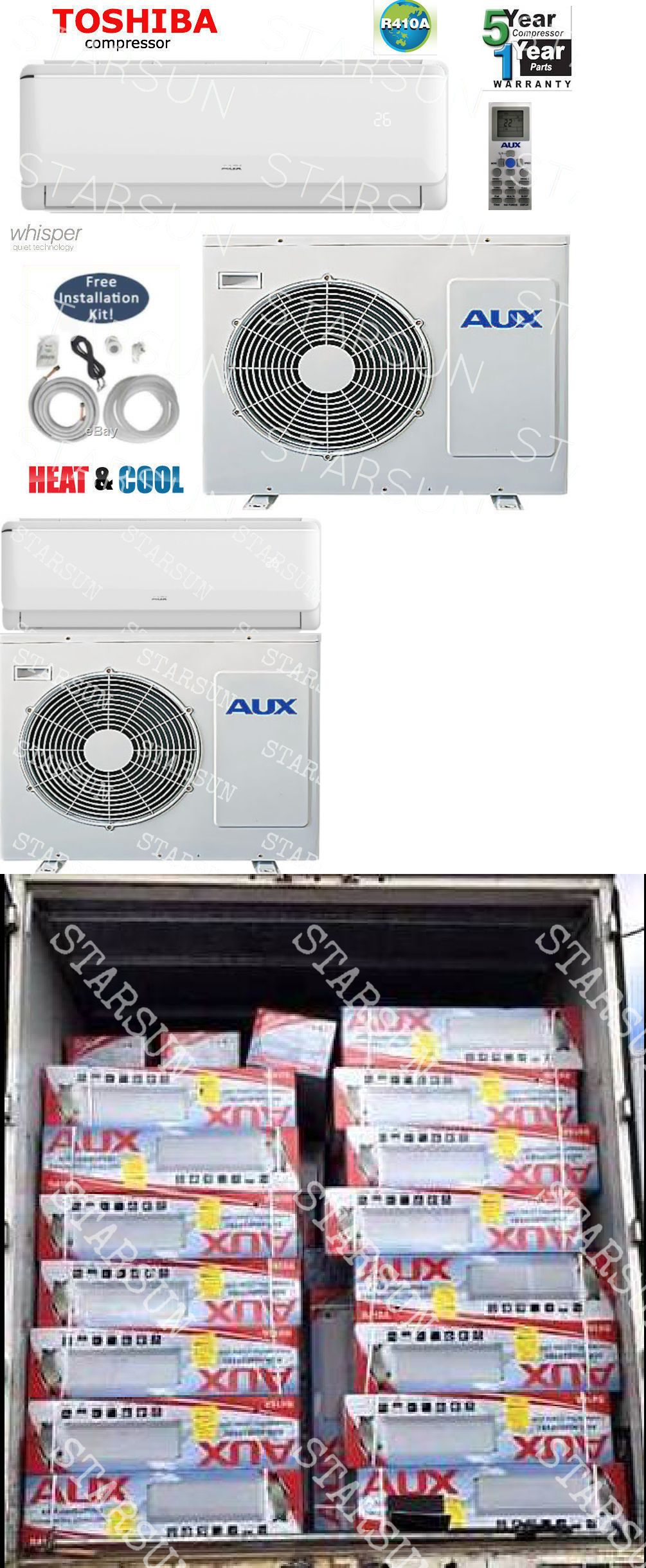 Central Air Conditioners 185108 12,000 Btu Ductlless Air