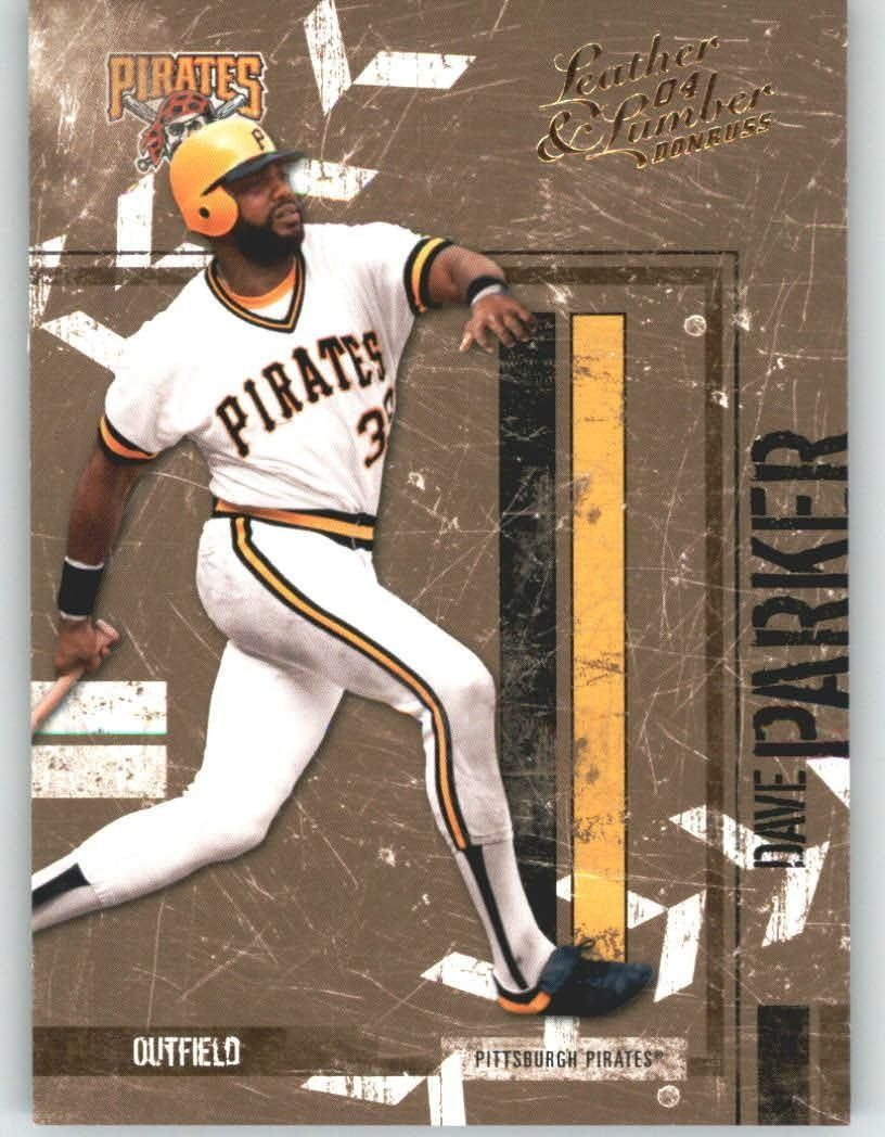 2004 donruss leather and lumber 118 dave parker