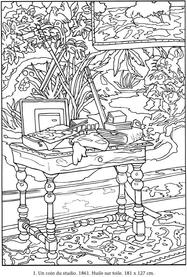Welcome to Dover Publications | Colouring Pages | Pinterest | Malen ...