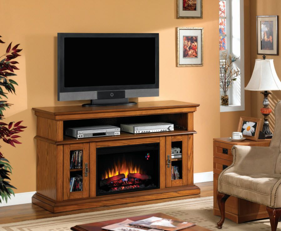 Elegantly Crafted Rustic Electric Fireplaces Fireplace