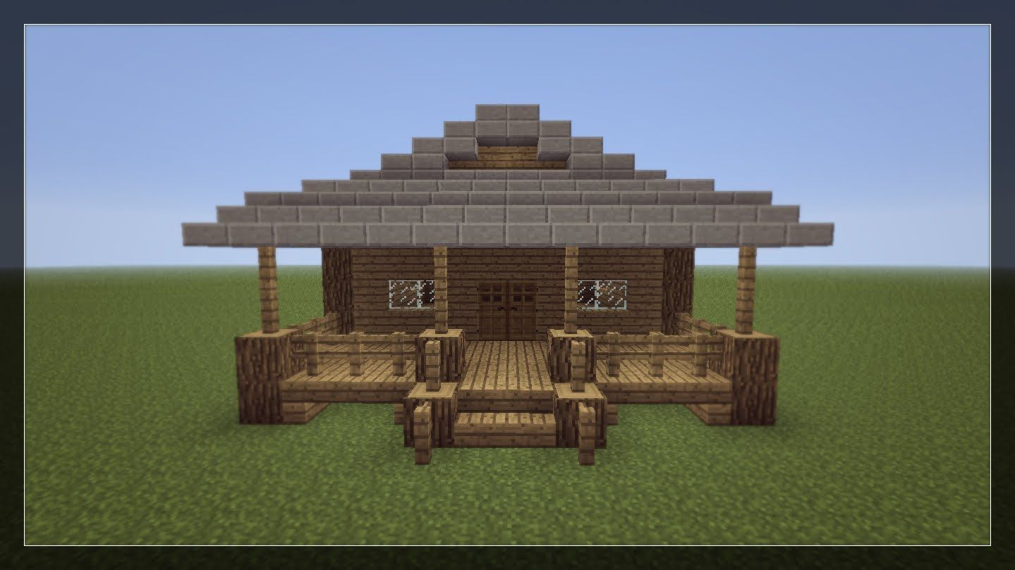 Magnificent How To Make A Small Minecraft House Everything Marissa Largest Home Design Picture Inspirations Pitcheantrous