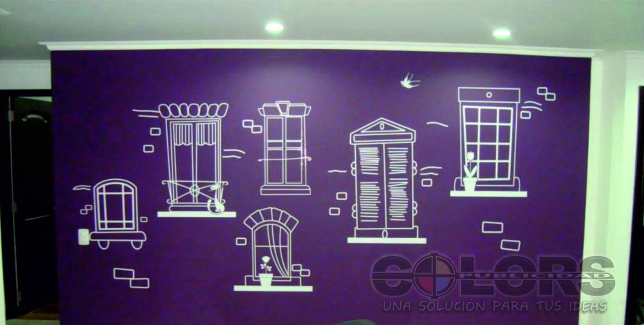Decoración Pared Personalizada
