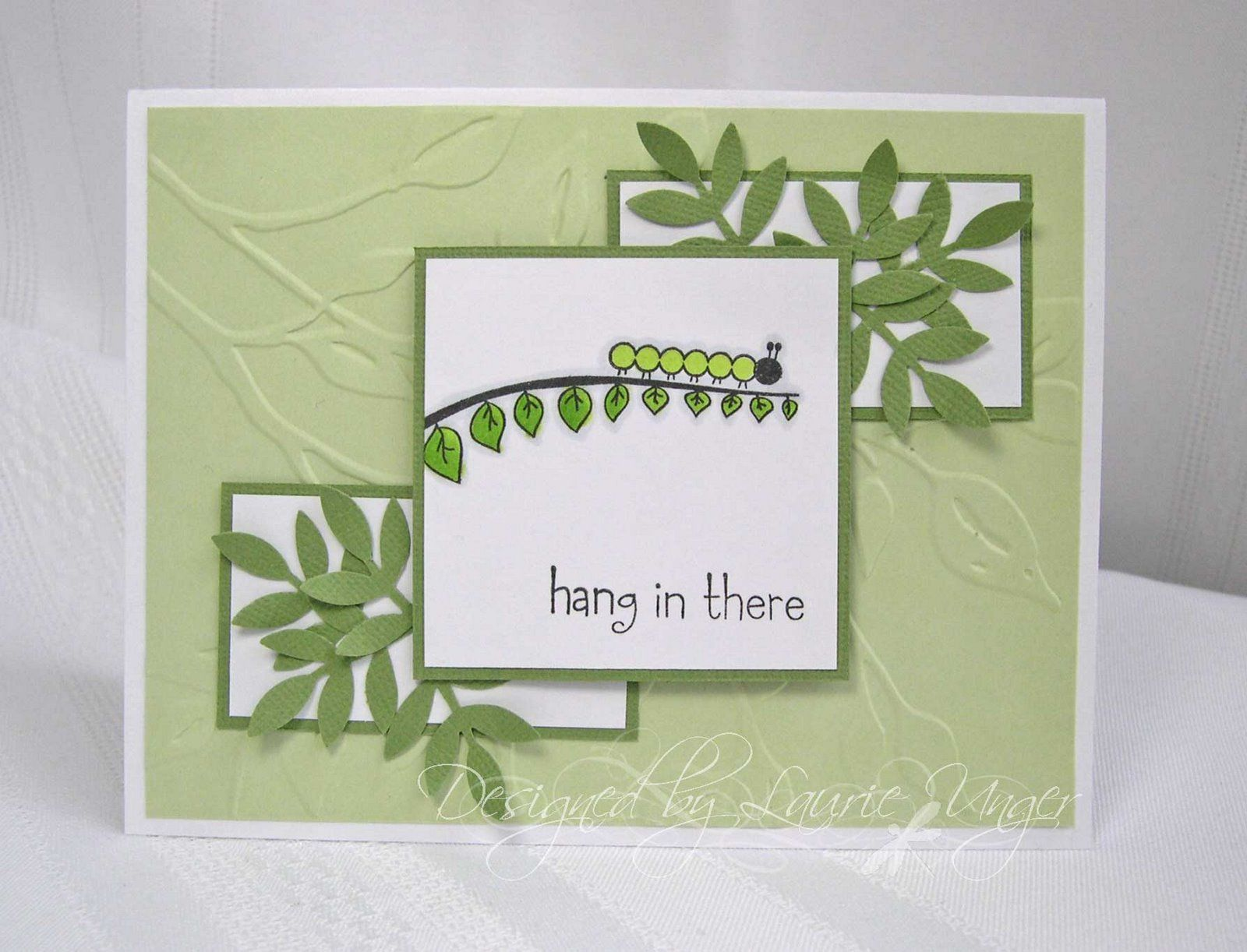 Laurie's Stampin Place: Hang in there!