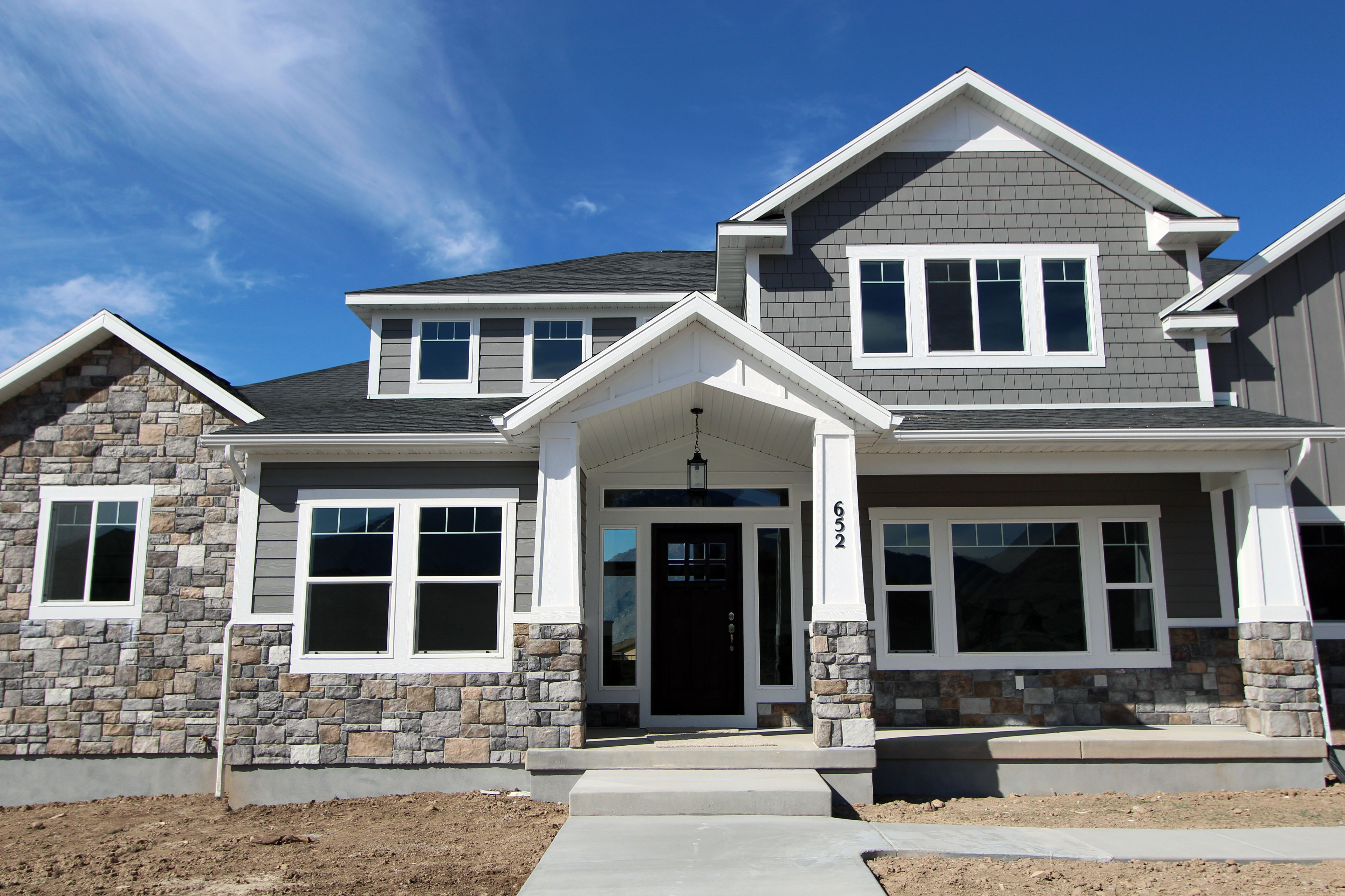 Pepperdign Homes Custom Homes Utah Craftsman Homes Craftsman House Home New Home Designs