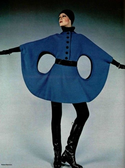 Space Age Fashion By Pierre Cardin For L Officiel 1971