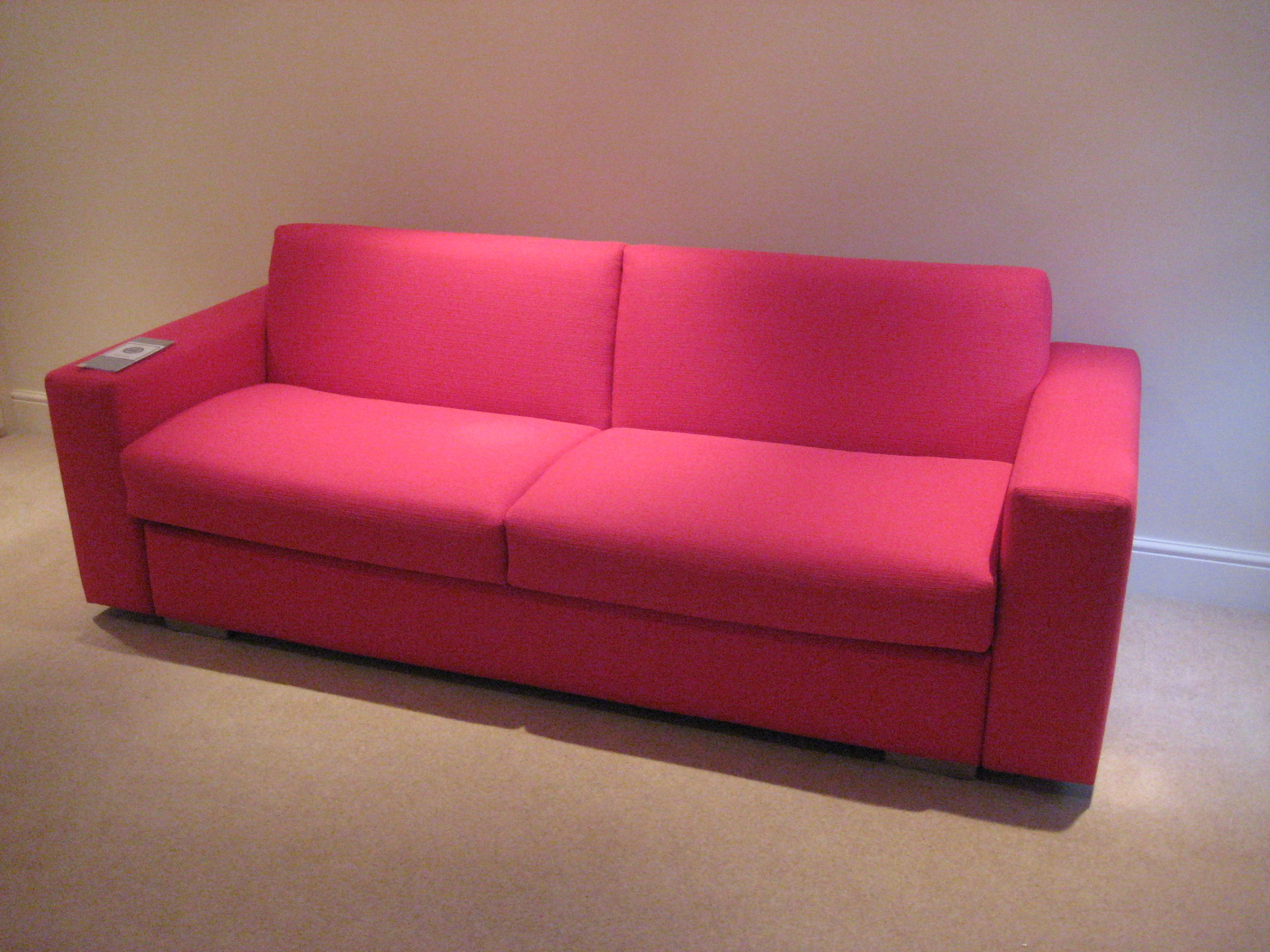 Lario 3 seater sofa bed with 20 cm wide arms measuring 224 for Sofa 1 20 breit