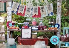 Website full of party theme ideas
