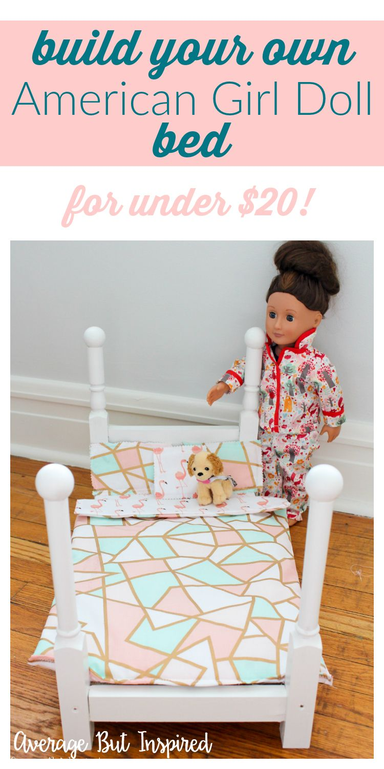 How to Make an American Girl Doll Bed American girl doll