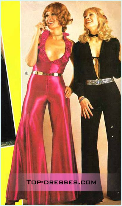 women wore bodysuits in the late 70s and early 80s to the