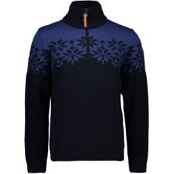 Photo of Cmp M Knitted Pullover 2 Windproof | 48,50,52,54,56,58 | Blau / Schwarz | Herren F.lli Campagnolof.l